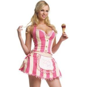 Leg Avenue sexy ice cream shoppe costume